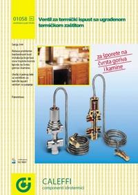 Ventil za termički ispust sa ugrađenom termičkom zaštitom