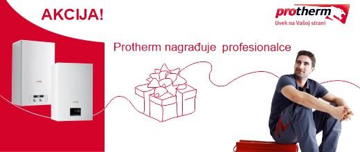 Protherm nagrađuje profesionalce